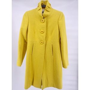 J. Crew Double Cloth Wool Sybil Button Up Pea Coat